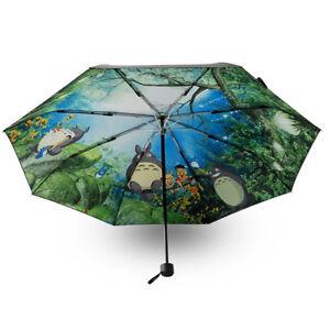 cf171c3a1c0ed Image is loading Black-Ghibli-Totoro-Umbrella-Anime-Parasol-Sun-Rain-