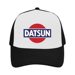 c6ac316bfd2 Datsun Cap Car Sport Trucker Hat Black Exclusive Adjustable Outdoor ...