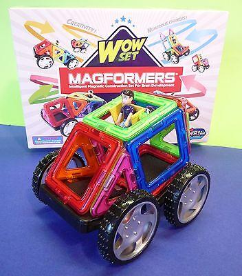 """Spielzeug Bilder-vorlagen """"top"""" 274-14 Ausdauernd Magformers Wow-set 16-teilig Bau- & Konstruktionsspielzeug-sets"""