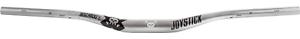 Joystick-8-Bit-Alloy-LT-Handlebar-Anodized-Silver-35mm-Clamp-800mm-Wide-20-Rise
