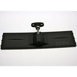 "Axia Alloys MOD9PRVM-BK 9/"" billet aluminum Panoramic rear view mirror black"