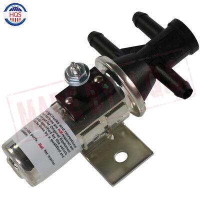 Universal Dual Fuel Tank Selector Switch Valve 3 Port Main Aux Gas FV1T FV1 12V