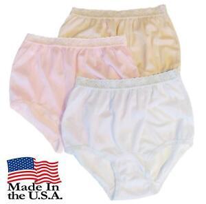 96336b3a9d89 Carole Women's Nylon Lace Trim Panties Briefs - Pack of 3 | eBay