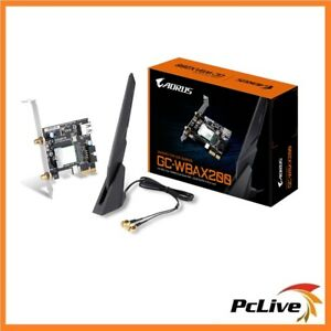 Gigabyte-GC-WBAX200-2400Mbps-WIFI-6-AX-AC-Wireless-Card-Adapter-BLUETOOTH-5-0