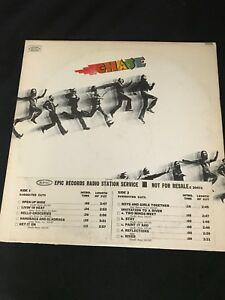 Rare-Jazz-Rock-LP-CHASE-Self-Titled-Epic-Records-E-30472-Rare-PROMO