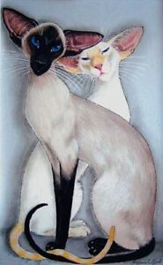 Siamese-Cat-painting-print-large-signed-from-original-by-Suzanne-Le-Good