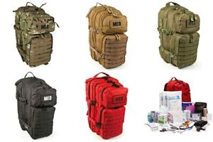 ELITE FIRST AID Tactical Trauma Kit #3 STOCKED w/ Backpack Medic Survival