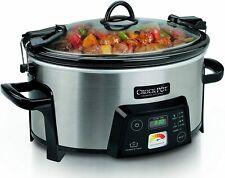 Crock-Pot SCCPCTS605 Cook Travel Serve 6-Quart Programmable Slow Cooker