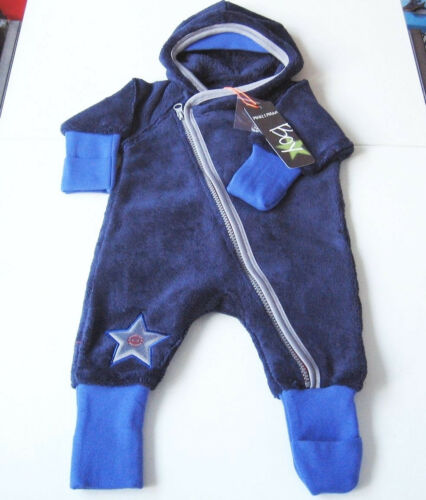 Peluche Overall taille 56 Phister /& Philina Neuf Combishort Voiture-Costume Bleu Bébé
