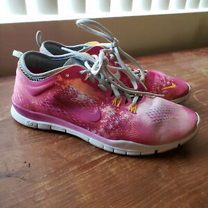 Details about Nike Free 5.0 Tr Fit 4 Women's Pink Running Athletic Sneakers Shoes Size 8.5