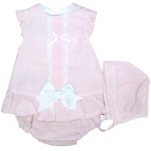 00b979e07 Beautiful Spanish Baby Girl Pink Dress
