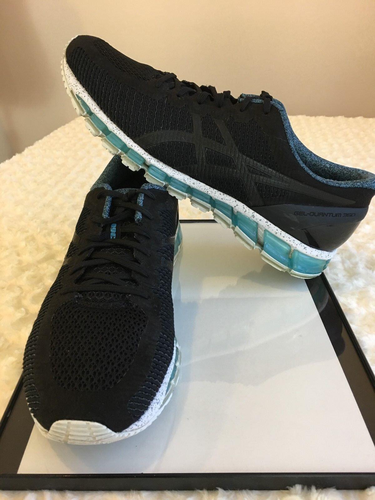 Asic nerowhite gel quantom 360 uomini scarpe l '11,5 nerowhite Asic blu in formazione sportiva 8c649c