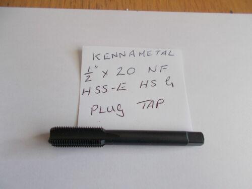 """Kennametal 1//2/"""" x 20 NF Plug Tap"""