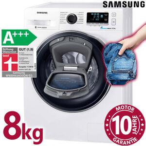 Samsung Waschmaschine AddWash A+++ Frontlader 8kg freistehend AquaStop Inverter