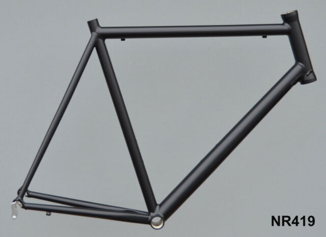 Onroad Lite Rennrad Rahmen RH 62 cm in schwarz matt 1440g FST NR419