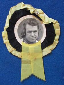 HAND-SIGNED-Richard-Hellsen-Kings-Lynn-Speedway-Rosette-1970-039-s-1980-039-s-B