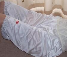 Cream vintage style soft nylon pantie slip~pettipants~culottes size 20~22 No Vpl
