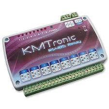 KMTronic USB RS485 Serie COM circuito controlador de 8 reles, 12V