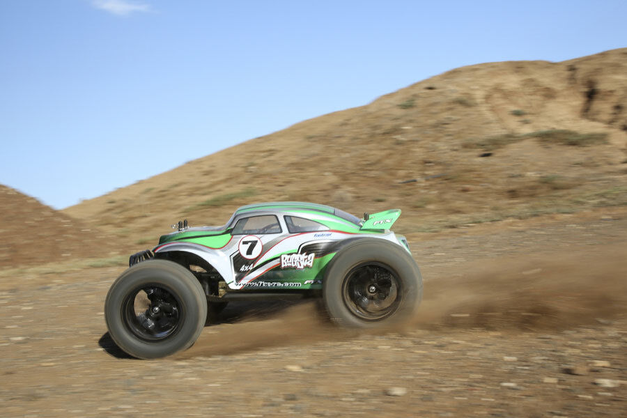 FTX Bugsta BRUSHLESS 1 10 Ready Built 2.4Ghz Beetle 4WD V. FAST inc Lipo FTX5545