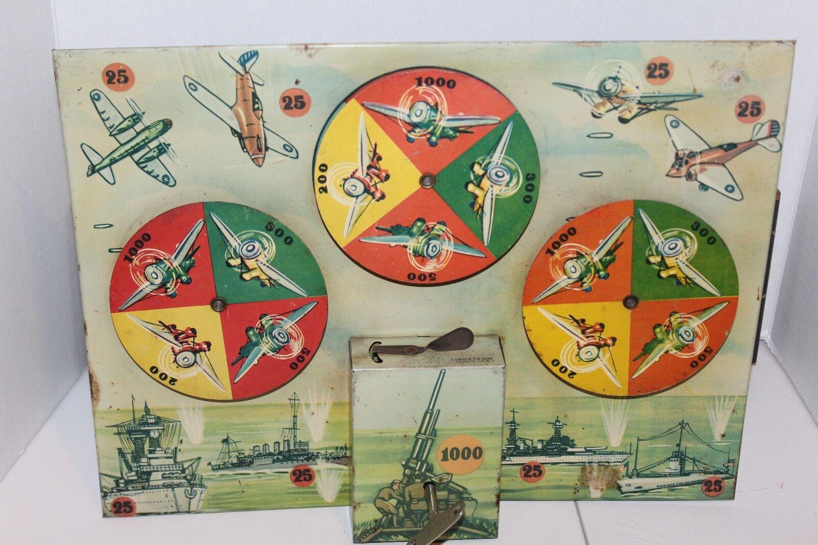 entrega rápida Buen Vintage Lindstrom militar Wind Up Juego de destino destino destino alrojoedor de 1930's-40's  Sin impuestos