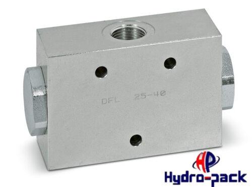 "Stromteiler divisor del caudal DFL 25-40l 1//2/"" 50//50 división"