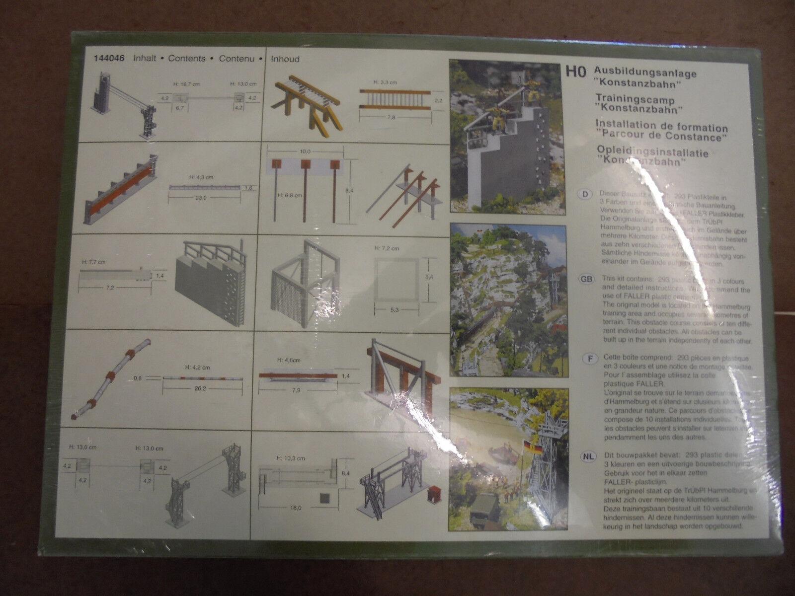 Ftuttier 144046 impianto di formazione  Costanza ferroviario    h0 kit di plastica 13d2c6