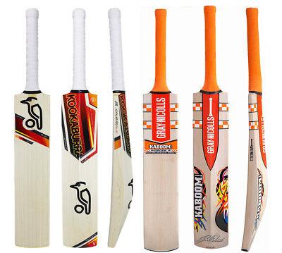 KABOOM Cricket Bats Free Nokd FREE SHIP Model Pack of 2 x GRAY NICOLLS