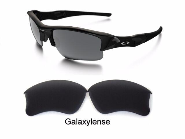 9064115043aac Galaxy Replacement Lenses For Oakley Flak Jacket XLJ Sunglasses Black  Polarized