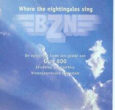 BZN Where the nightingales sing/TV medley (2001) [Maxi-CD]