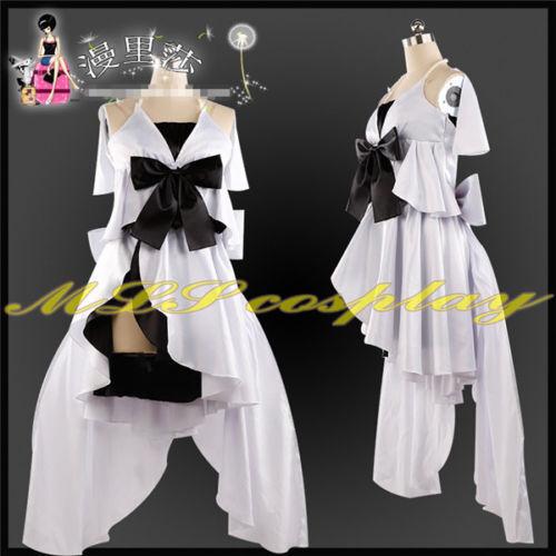 FGO Fate//hollow ataraxia Cos Euryale Cosplay Costume White Dress Free Shipping