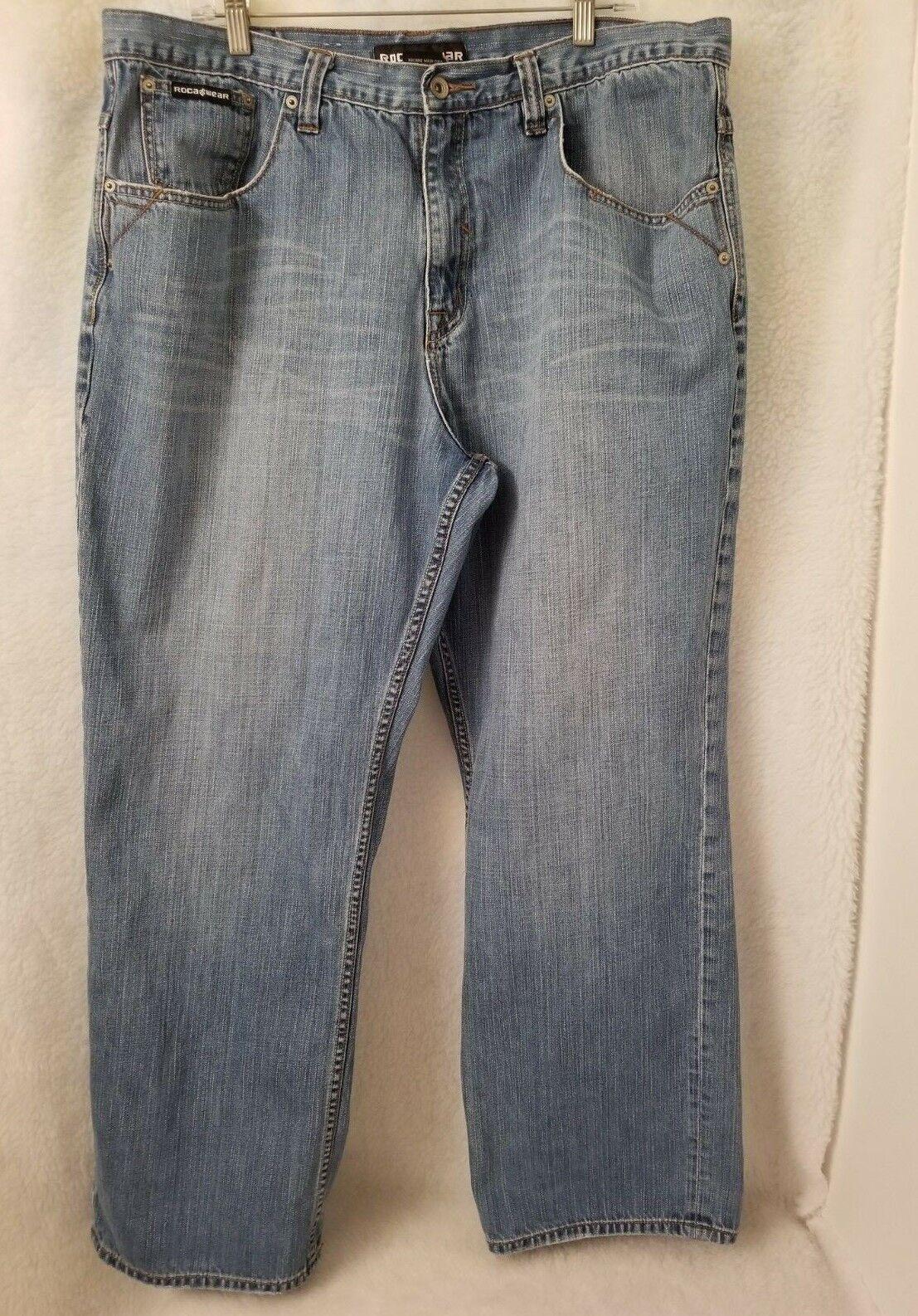 Rocawear Mens bluee Jeans Size 40