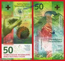 SUIZA SWITZERLAND SUISSE 50 Francs franchi 2016 Hybrid Pick NEW  SC /  UNC