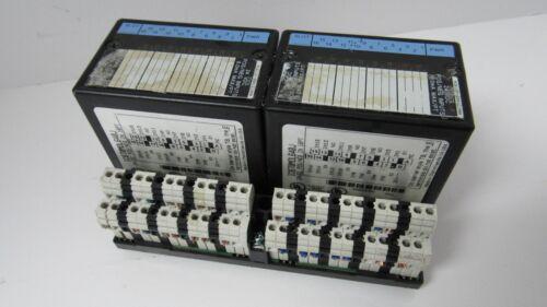 GE FANUC IC670MDL640J POS//NEG INPUT MODULES