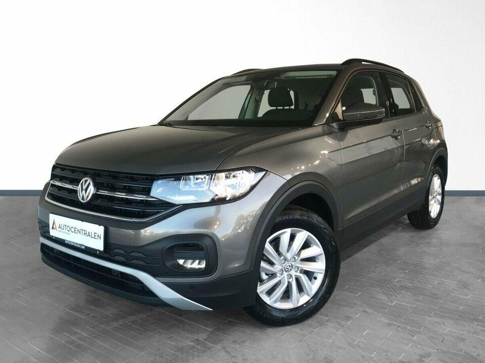 VW T-Cross 1,0 TSi 115 Life Van Benzin modelår 2020 Gråmetal