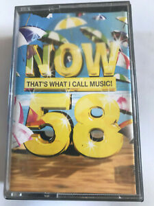 Now-That-039-s-What-I-Call-Music-Vol-58-2004-Double-Cassette-Tape-Tested