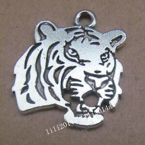 P1010 20pc Tibetan Silver planet Charm Beads Pendant accessories wholesale