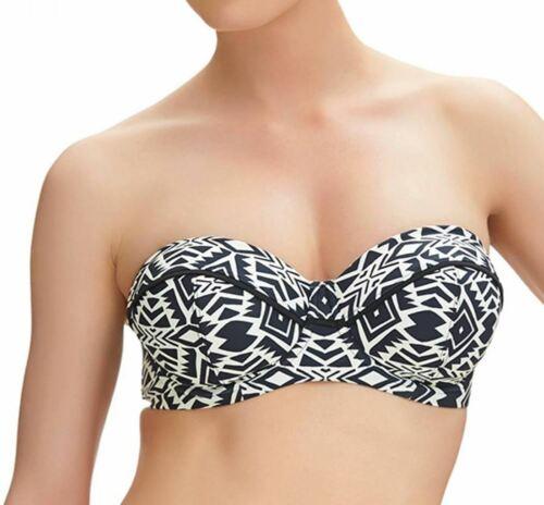 Fantasie Beqa FS6345 WP Underwired Padded Bandeau Bikini Top