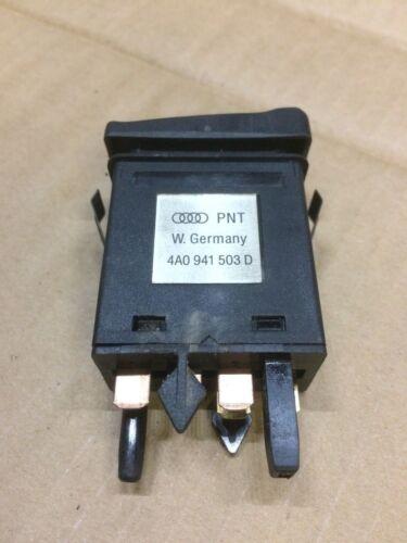 AUDI 80 90 B3 B4 Cabrio Coupe Trasero Ventana Pantalla Ventilador Interruptor 4A0941503D climatizada