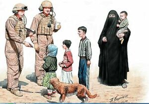 HELP-YOURSELF-PLEASE-US-SOLDIERS-WITH-IRAQ-CHILDREN-1-35-MASTER-BOX-35159-DE