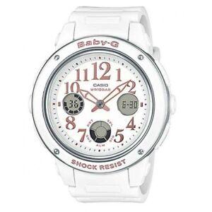 Casio-Baby-G-Womens-Wrist-Watch-BGA150EF-7B-BGA-150EF-7B-White-Analog-Digital