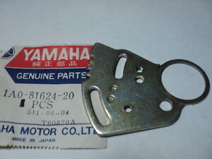 1976-78 YAMAHA RD400 RD 400 RIGHT CONTACT BREAKER PLATE 1A0-81624-20