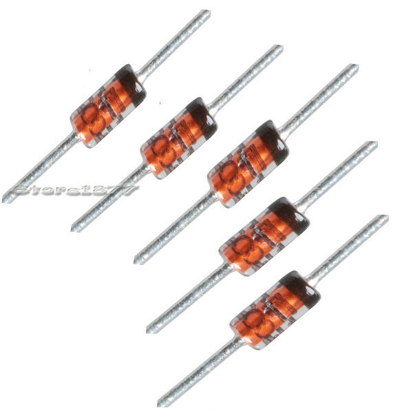 100 pcs 1N4148 Diode DO-35 Switching Signal 4148