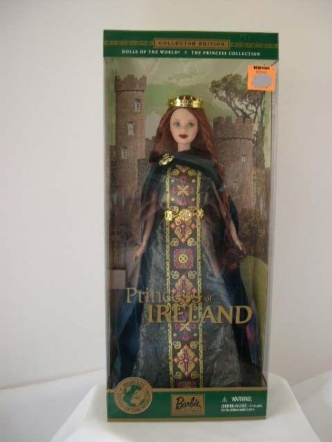 Muñecas Barbie del mundo de Irlanda Princesa Nuevo en Caja Como Nuevo