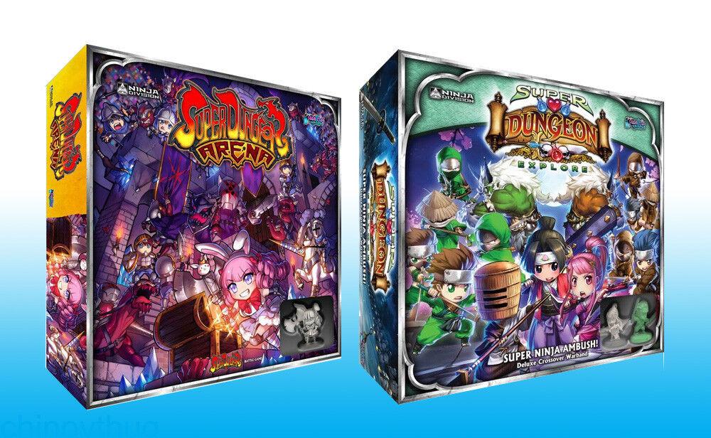 súper Dungeon Explore Arena JcJ & súper Ninja emboscada  expansiones