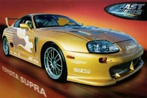 Image Is Loading Toyota Supra 2 Fast Furious Movie 24x36