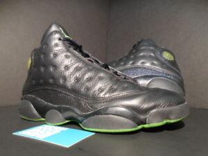 sports shoes d8ca7 ff83d Image is loading 2005-Nike-Air-Jordan-XIII-13-Retro-BLACK-