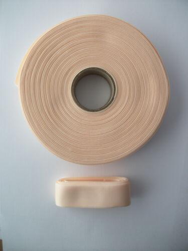 Pointe Shoe Ballet Ribbon Nylon Peachy Pink  2.5m 1 Inch Wide
