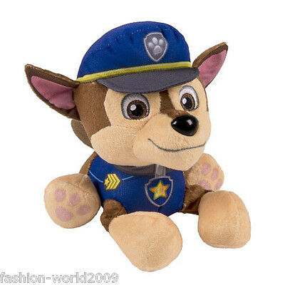 """Hot Sale Paw Patrol Pup Pals Toy Soft Plush Toy 5"""" Nickelodeon Dog Doll -Chase"""