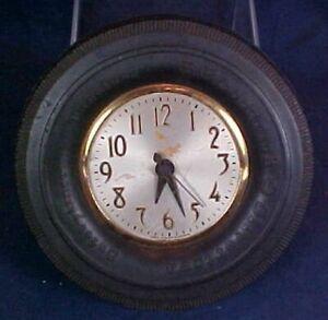 Vintage B. F. Goodrich Silvertown Safetyliner Tubeless Tire Clock