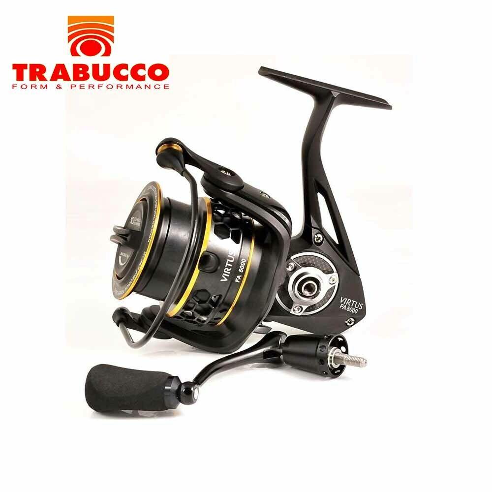 Mulinello Trabucco Virtus 2000 2500 4000 5000 FA 9 BB Pesca Feeder Ledgerin CASG